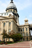 Capitolio Building3 del estado de Illinois Fotografía de archivo libre de regalías