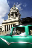 Capitolio and Car Royalty Free Stock Images