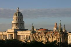 Capitolio, Cuba Photo stock
