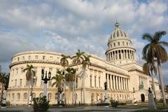Capitolio cubano de Natinal, visión general Fotografía de archivo libre de regalías