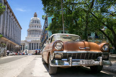 Capitolio de Havana Fotografia de Stock