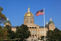 Capitolio de Iowa imagen de archivo
