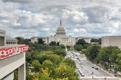 Capitolio de los E Foto de archivo libre de regalías