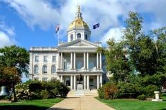 Capitolio de New Hampshire del estado en concordia Fotografía de archivo