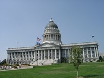 Capitolio de Salt Lake City Imagenes de archivo