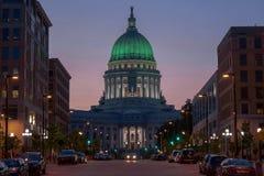 Capitolio de Wisconsin Fotografía de archivo