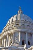 Capitolio de Wisconsin, Madison Imagen de archivo libre de regalías
