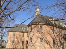 Capitolio del Colonial de Virginia Fotos de archivo libres de regalías