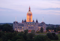 Capitolio del estado, Connecticut Fotos de archivo