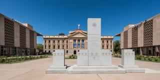 Capitolio del estado de Arizona imágenes de archivo libres de regalías
