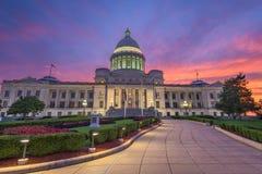 Capitolio del estado de Arkansas imagenes de archivo
