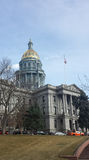 Capitolio del estado de Colorado en Denver imagenes de archivo