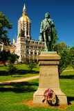 Capitolio del estado de Connecticut fotos de archivo