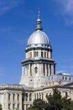 Capitolio del estado de Illinois Fotos de archivo libres de regalías