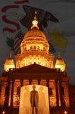 Capitolio del estado de Illinois Imagen de archivo libre de regalías