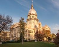Capitolio del estado de Illinois Foto de archivo libre de regalías