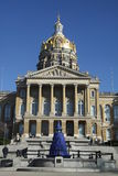 Capitolio del estado de Iowa Fotografía de archivo libre de regalías