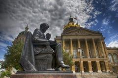 Capitolio del estado de Iowa Imagen de archivo