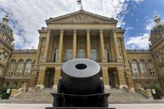 Capitolio del estado de Iowa Foto de archivo libre de regalías