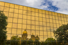 Capitolio del estado de Iowa Fotos de archivo libres de regalías