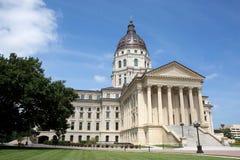 Capitolio del estado de Kansas Imagenes de archivo