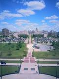 Capitolio del estado de Lansing Fotos de archivo