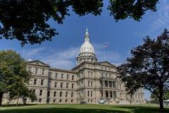 Capitolio del estado de Michigan fotos de archivo