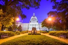 Capitolio del estado de Mississippi fotos de archivo