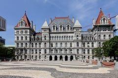 Capitolio del Estado de Nuevo York Imagen de archivo libre de regalías
