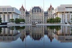 Capitolio del Estado de Nuevo York Foto de archivo