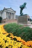 Capitolio del estado de Oklahoma Imágenes de archivo libres de regalías
