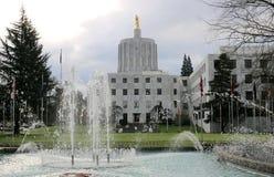 Capitolio del estado de Oregon imágenes de archivo libres de regalías