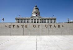 Capitolio del estado de Utah imagen de archivo libre de regalías