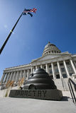 Capitolio del estado de Utah fotos de archivo