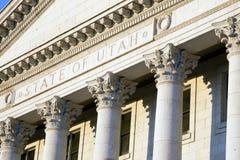 Capitolio del estado de Utah fotografía de archivo libre de regalías