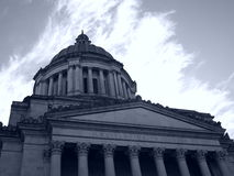 Capitolio del estado de Washington Imagenes de archivo