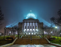 Capitolio del estado de Wisconsin Imagen de archivo libre de regalías