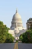 Capitolio del estado de Wisconsin en Madison Fotografía de archivo