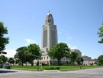 Capitolio del estado del NE Foto de archivo