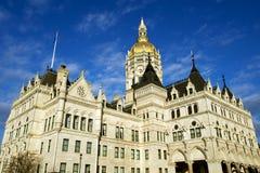 Capitolio del estado en Hartford, CT fotografía de archivo