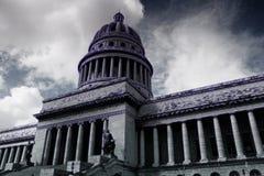 Capitolio en La Habana Imagen de archivo libre de regalías