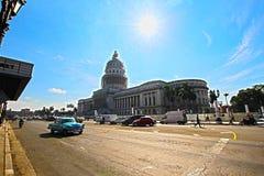 Capitolio en La Habana, Cuba Imagenes de archivo