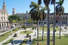 Capitolio gardens Royalty Free Stock Image