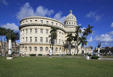 Capitolio in Havana. Royalty Free Stock Photo