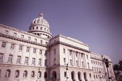 Capitolio, Havana Stock Foto's