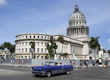 Capitolio Havana Royaltyfria Bilder