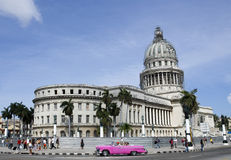 Capitolio Havana Royalty-vrije Stock Afbeeldingen