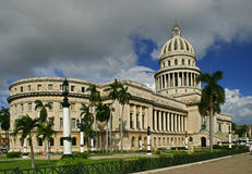 Capitolio in Havana Royalty Free Stock Photo