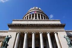 Capitolio, Havana, Cuba Imagens de Stock