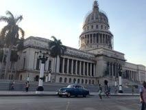 Capitolio - Hawański - Kuba Obrazy Stock